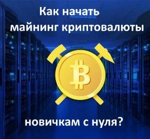 Майнинг криптовалюты новичкам с нуля